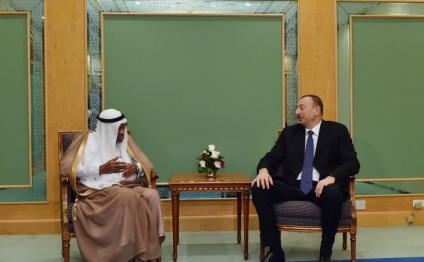 Azerbaijani president meets with president of Islamic Development Bank Group (PHOTO)