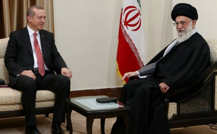 Turkish president meets Iran's supreme leader