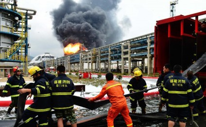 China's chemical plant fire resurfaces