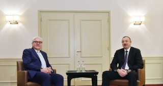 Azerbaijani president, German FM discuss Karabakh conflict