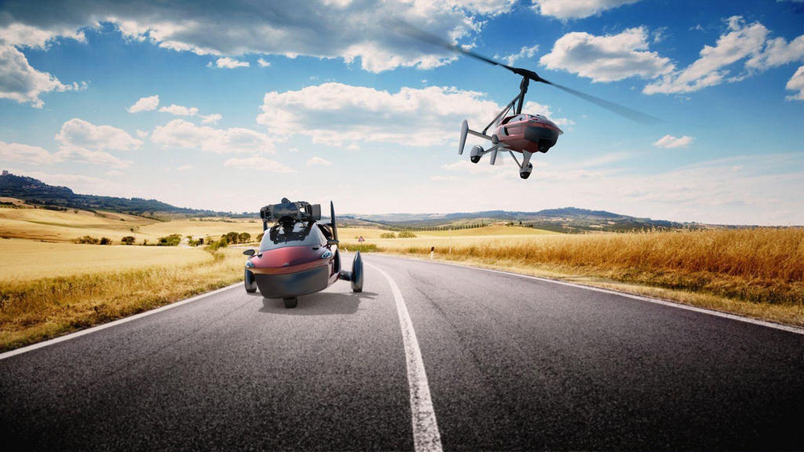 Uçan avtomobillər gəlir – Xəyallar gerçək oldu